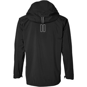 Basil Skane Rain Jacket Men, jet black